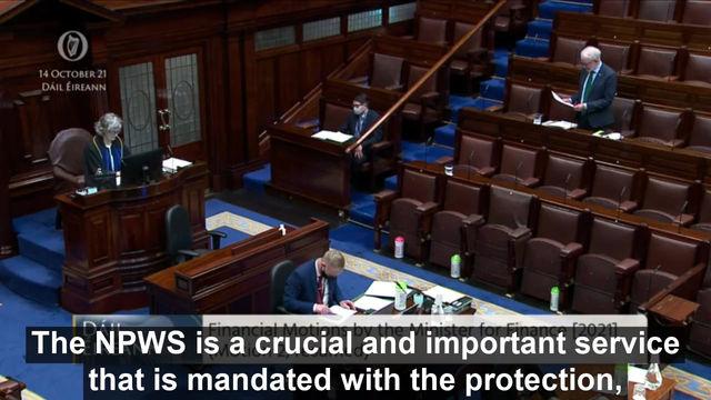 #Budget2022 Statement delivered by Minister Noonan