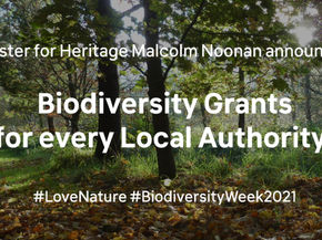 €1.35m for Local Authority Biodiversity Grant Scheme announced by Minister Noonan