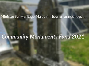 Community Monuments Fund awards 2021 announced by Minister Noonan