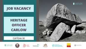 Carlow County Council invites applications for the post of Heritage Officer.