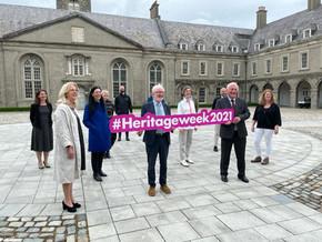 #HeritageWeek2021 welcomed by Minister Noonan