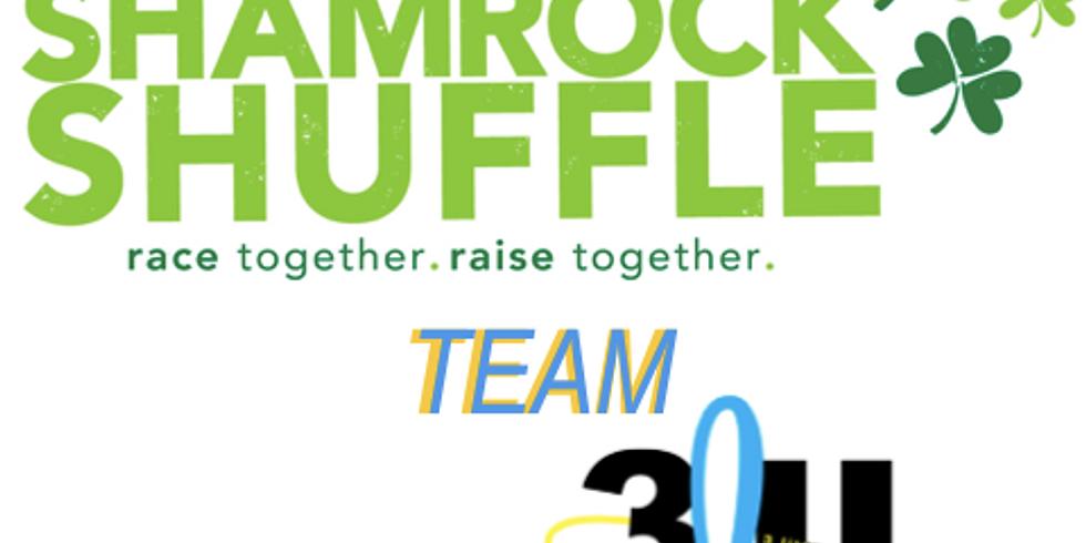 3 little Halos Safety Town Team - 2020 Shamrock Shuffle