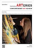 שער וכתבה במהדורת הביאנלה של מגזין אמנות | A cover and an intreview on Bienalle edition of Peripheral ARTeries