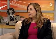סיגל יער, ראיון בתכנית יצירה מקומית עם טל מן Sigal Yaar, an intreview in a TV show Yetzira Mekomit