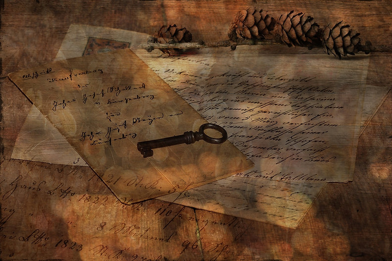 letter and pinecone.jpg