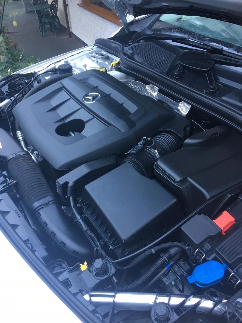 Mercedes A Class Engine Bay