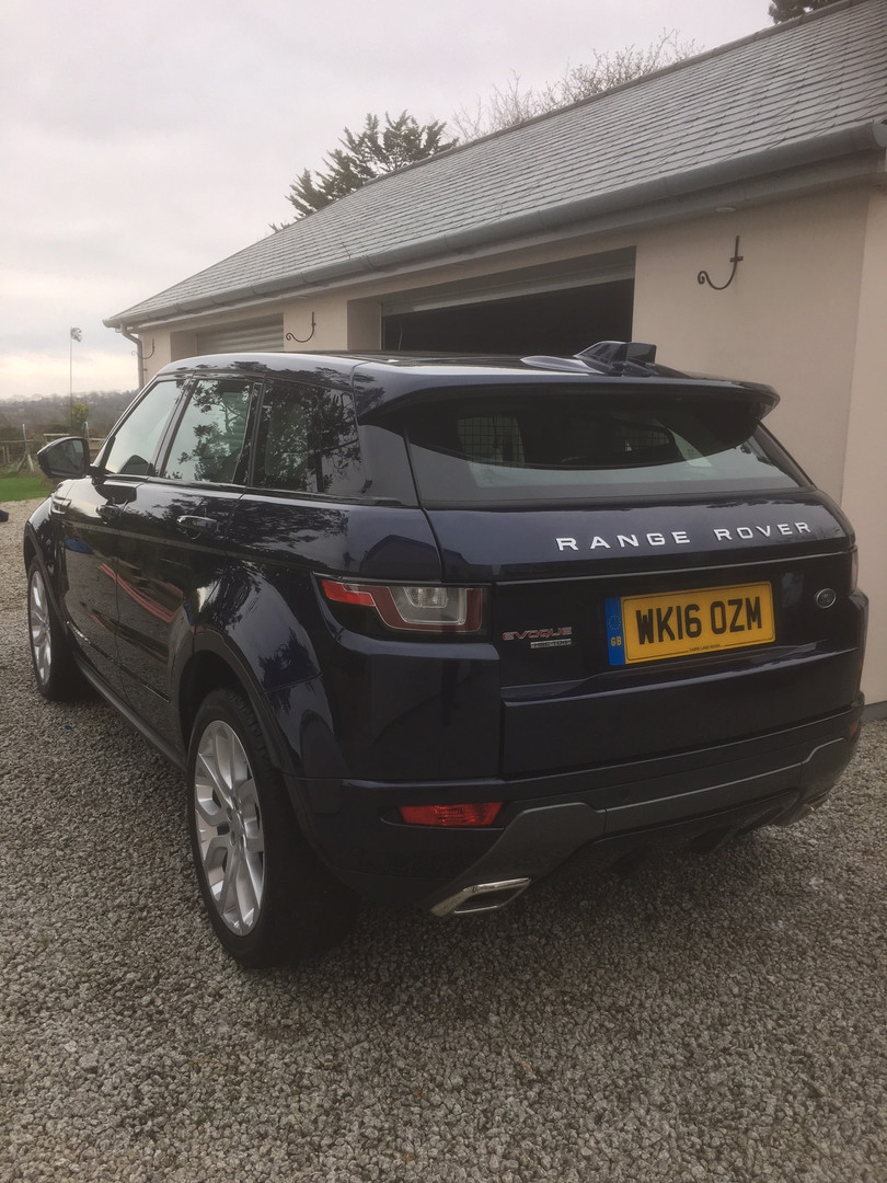 Beautiful Range Rover Evoque