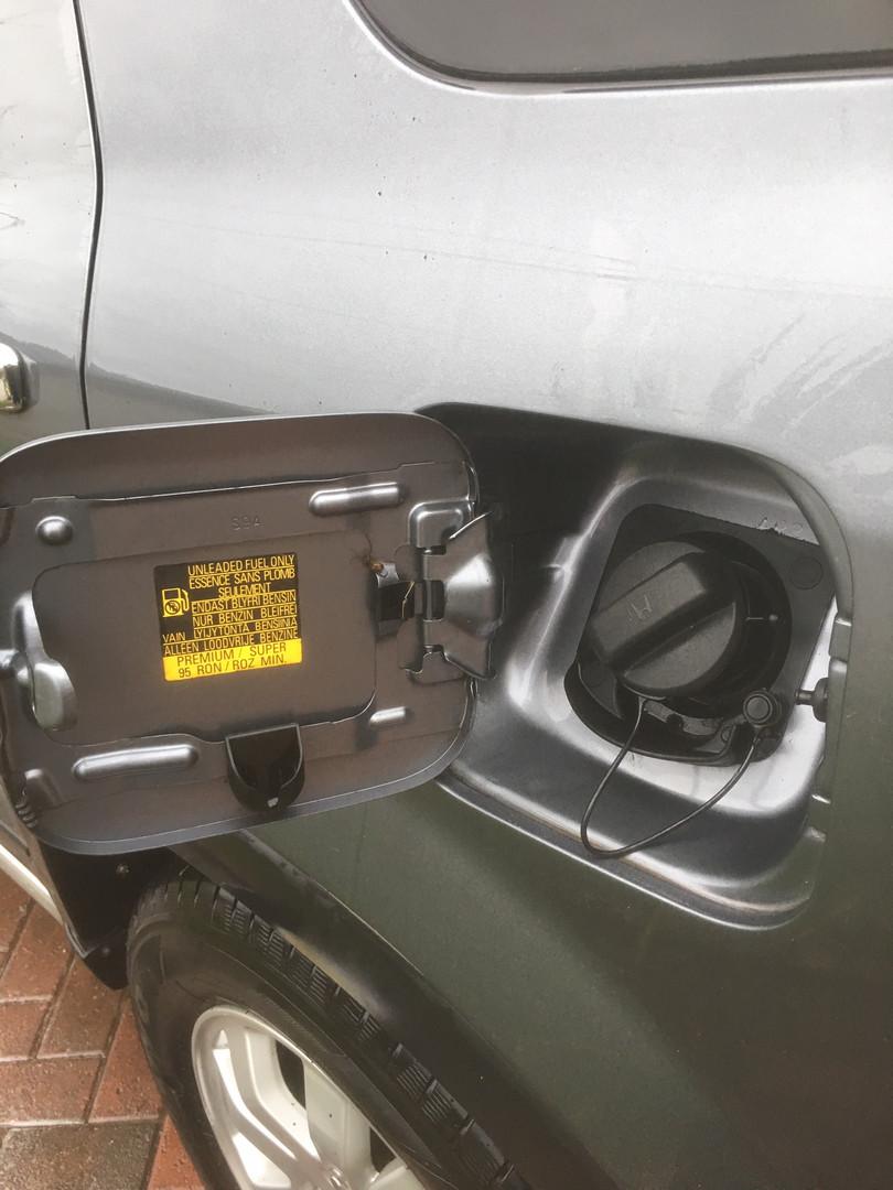 Clean fuel cap!