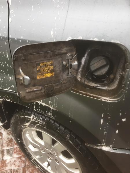 Dirty fuel cap......