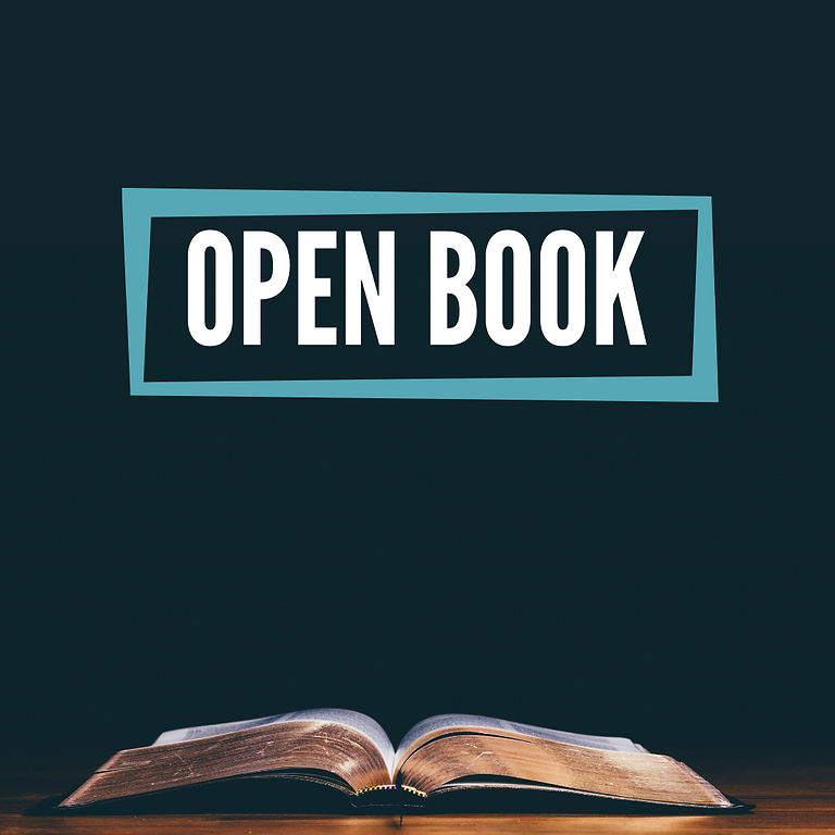 Open Book 16th May