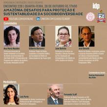 Webinar | Amazônia: desafios para proteção e sustentabilidade da sociobiodiversidade