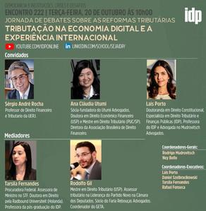 Webinar | Tributação na economia digital e a experiência internacional