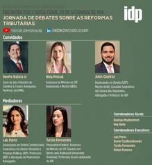 Webinar   Jornada de debates sobre as reformas tributárias