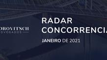 Radar Concorrencial - Janeiro/2021