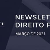 Newsletter de Direito Público - Março/2021