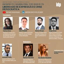 Webinar | Liberdade de expressão e crise democrática