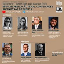 Webinar | Responsabilização Penal, Compliance e Administração Pública