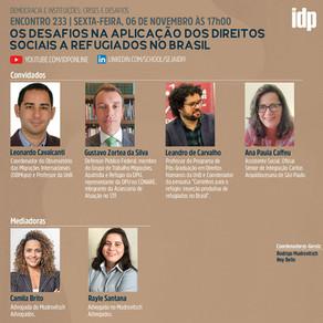 Webinar | Os desafios na aplicação dos direitos sociais a refugiados no Brasil