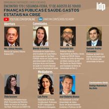 Webinar | Finanças Públicas e Saúde: Gastos estatais na crise