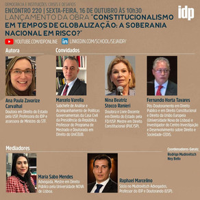 Webinar | Constitucionalismo em tempos de globalização: soberania nacional em risco?