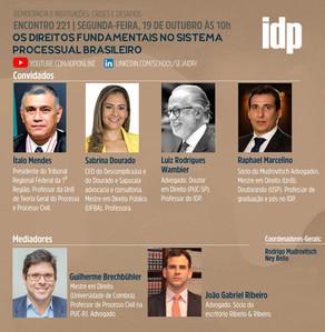 Webinar | Os direitos fundamentais no sistema processual brasileiro