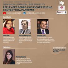 Webinar | Reflexões sobre as eleições 2020 no contexto da pandemia