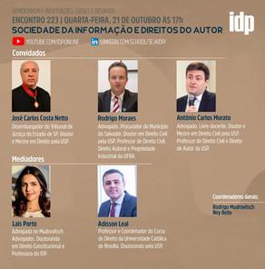 Webinar | Sociedade da informação e direitos do autor