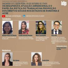 Webinar | Os desafios da atuação jurisdicional e o papel da justiça do trabalho