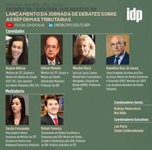 Webinar | Lançamento da Jornada de Debates sobre as Reformas Tributárias
