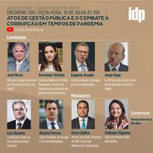 Webinar | Atos de gestão pública e o combate à corrupção em tempos de pandemia