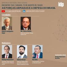 Webinar | As forças armadas e a defesa do Brasil