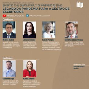 Webinar | Legado da pandemia para a gestão de escritórios