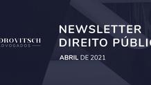 Newsletter de Direito Público - Abril/2021