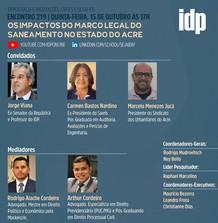 Webinar | Os impactos do marco legal do saneamento no estado do Acre