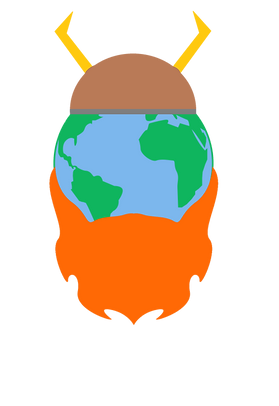 travel earth viking bearded