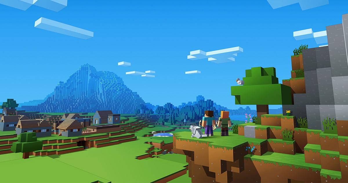 Joine uns in Minecraft
