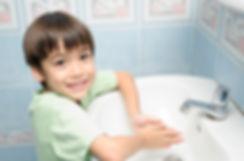 Little boy waiting for washing hand.jpg