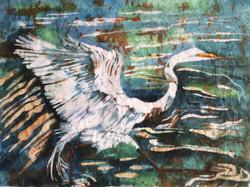 BIRD IN WAX RELEAF