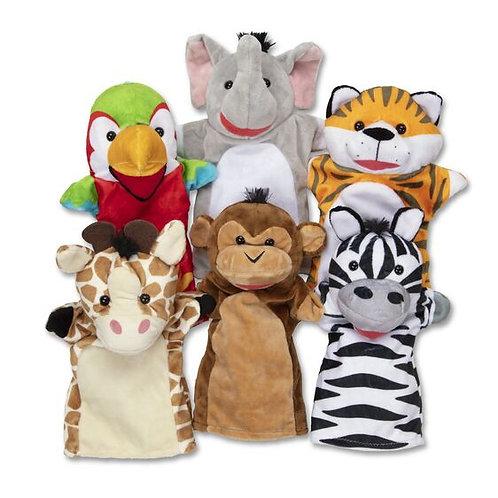Safari Animal Puppets