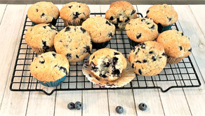 How To Make Easy Homemade Blueberry Muffins + BIG NEWS!