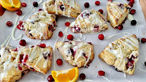How to Make the EASIEST and BEST Cranberry Orange Scones