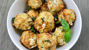The BEST Keto Air Fryer (or oven) Turkey Meatballs Recipe