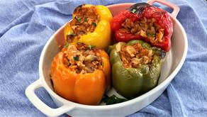 Stuffed Bell Peppers – Easy Vegan Recipe