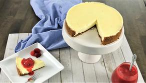 Creamy Strawberry Cheesecake Recipe