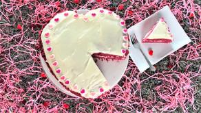 Red Velvet Cake - Valentines Day Dessert Collaboration
