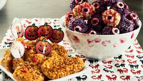 Halloween Rice Krispies Treats – Monster Eyeballs!