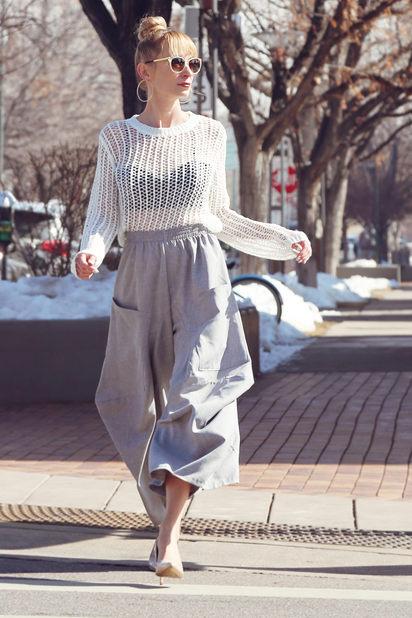 Chelsea Sweater & Drape Pocket Pant