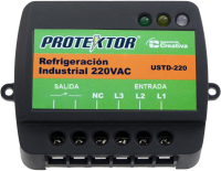 Protector Regleta Trifasico 220v. USTD-220
