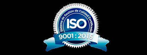 Calidad certificación ISO 9001 20015