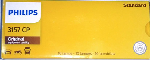 Bombillo 3157 Phillips Standard  2 Contactos